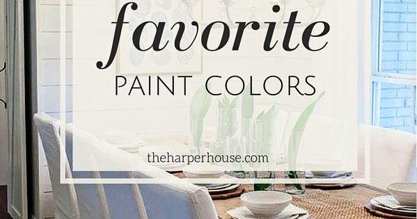 Fixer Upper Paint Colors Joannas 5 Favorites Rustig