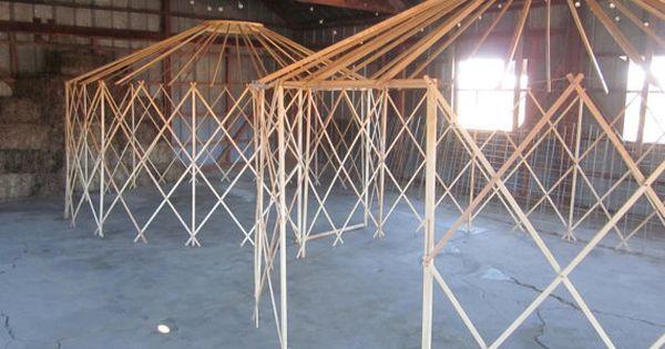 16 Camping Yurt Frame Kit DIY By Clean Air Yurts By