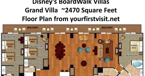 Accommodations And Theming At Disney's BoardWalk Villas