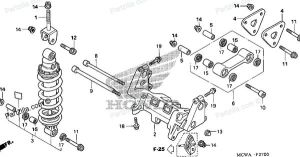 vfr 800 rear shock diagram | VFRs | Pinterest | See more ideas about Honda motorcycles and Honda