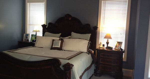 Just Painted The Master Bedroom Love This Paint Color