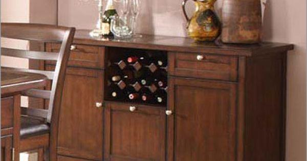 Photo Of ECI Furniture Tecate Granite Top Buffet With Wine