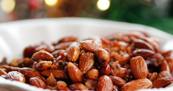 Sweet Spicy Smokey Roasted Almonds Recipe Roasted