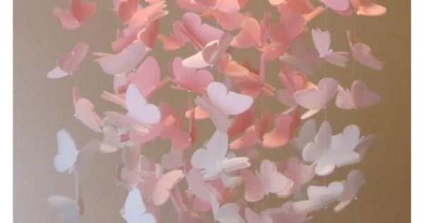 PICK 2 COLORS OMBRE Large Vellum Butterfly By