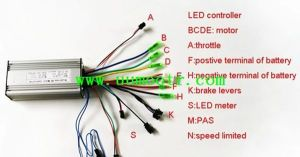Electric Bike Controller Wiring Diagram in addition