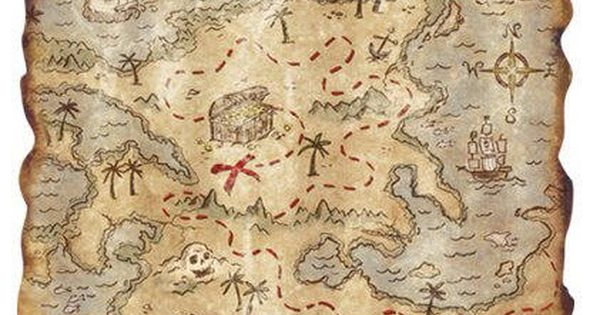 Make Your Own Map For The Treasure Hunt