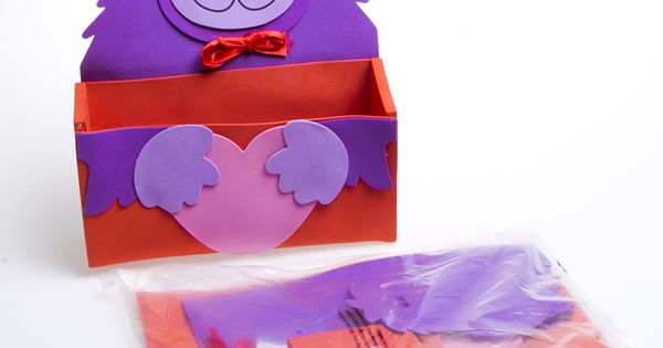 Valentine Gorilla Craft Card Boxes Ideas For The Boys