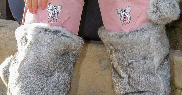 Jaw-dropping boots. Limited Edition pink mukluks made of ...
