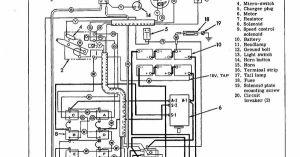 HarleyDavidson Electric Golf Cart Wiring Diagram This is