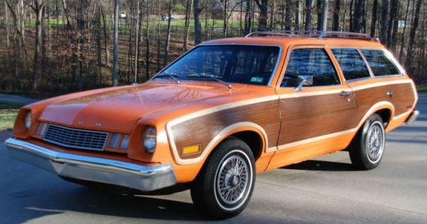 77 Ford Pinto Woody Station Wagon This Is The Car My Parents Gave My Brother When He