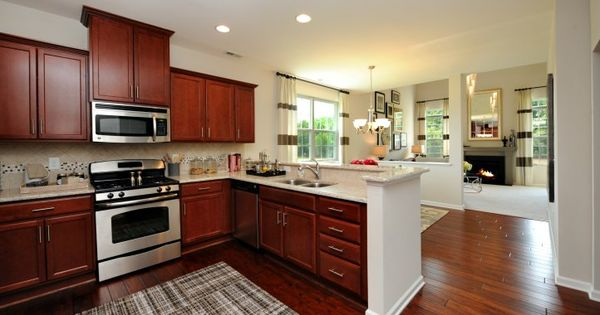 Lennar At Page Park In Durham, NC. Two-story Townhomes
