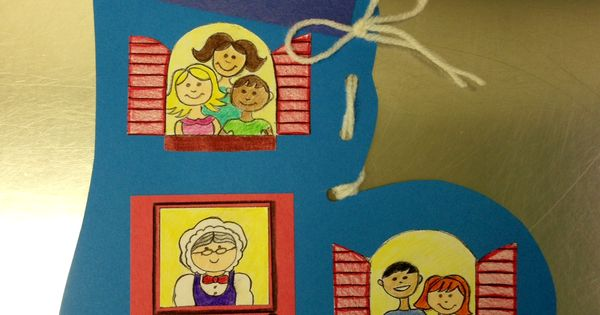 Nursery Rhyme Craft There Was An Old Lady Who Lived In A