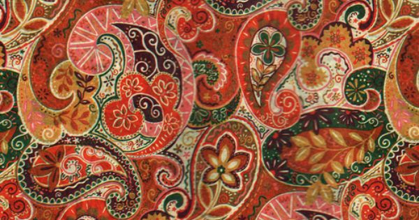 Autumn Paisley Pattern Via Calsidyrose Paisley Please Pinterest Best Paisley Pattern And