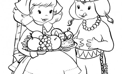 thanksgiving coloring pages printables  pilgrim
