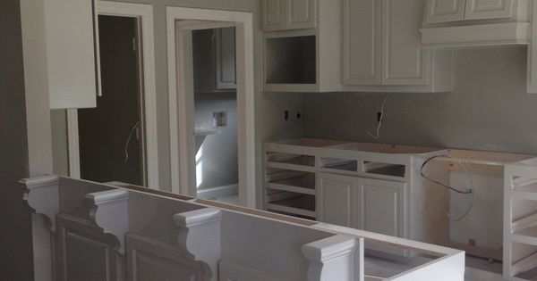 Walls Are Benjamin Moore Revere Pewter Cabinets Are Bm