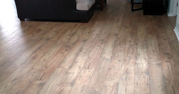 After Mohawk Rare Vintage Laminate In Fawn Chestnut Feels Like A Much Larger Space Transform