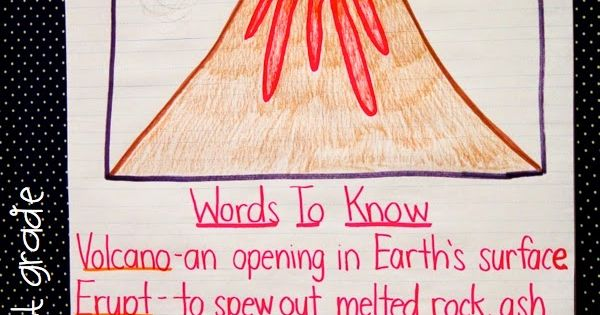 A Day In First Grade Volcanoes Best Day Ever