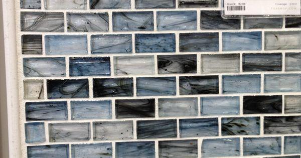 Blue Twilight Glass Large Brick 1 X 2 In 2nd Floor Bath