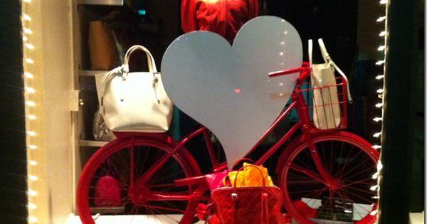 Hoboken Retail Window Display For Valentines Day