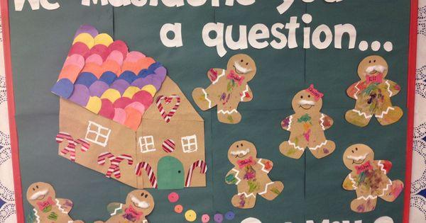 Infant Art Gingerbread Bulletin Board Sandpaper Sensory