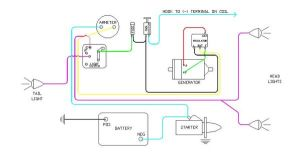 diagram of wiring on B Farmall | Later Wiring Diagram 6