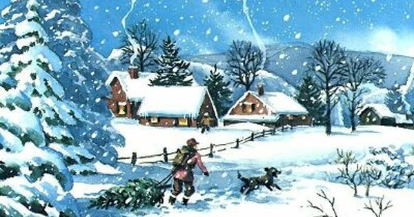 Animated Winter Slide Show Screen Saver Features 8