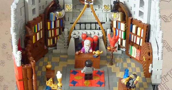 Dumbledores Office Flickr Photo Sharing Lego