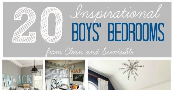 Great Collection Of Fun And Inspirational Boys' Rooms For
