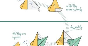 Origami Star Corona  diagram  the way I read the diagram