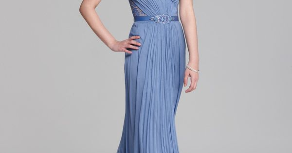 Blue/Grey/Periwinkle Mother Of The Bride Tadashi Shoji