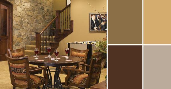 a palette guide to basement paint colors basement paint on basement bar paint colors id=20784