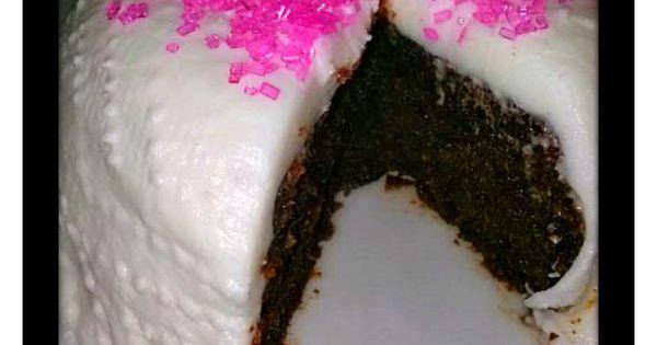 Black Cake Jamaican Rum Cake With Pink Sugar And White