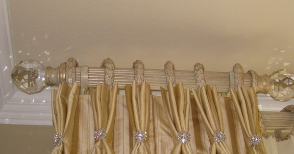 Fixed Dress Curtain With Bling Bling Furnishings Curtains Amp Drapes Pinterest Drapery