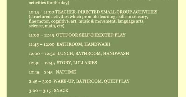 Image Result For School Schedule