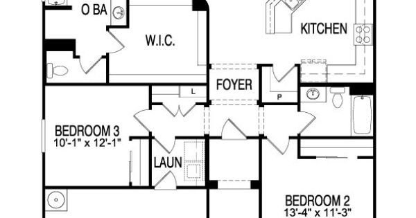 Pulte Senita Plan 1,756 Sf, 3/2, 1-story