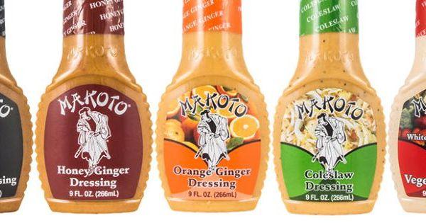 ginger dressing recipe makoto Makoto Ginger Dressing