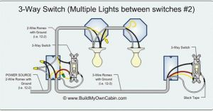 3Way Switch diagram (multiple lights between switches