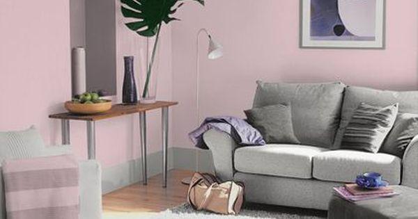 Dulux Pretty Pink Matt Emulsion Paint 25L Dulux
