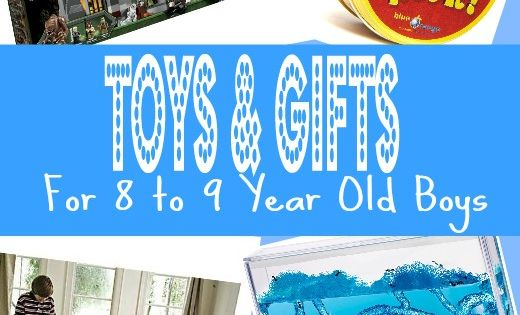 Browse Through Great Gifts And Toys For 8 Year Old Boys