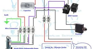 Submersible Pump Control Box Wiring Diagram For 3 Wire Single Phase | Technology | Pinterest