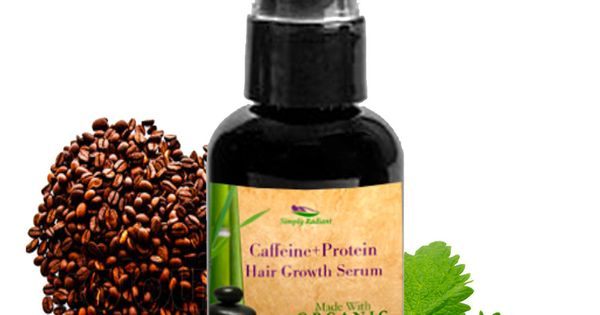 Organic Caffeine Protein Hair Growth Serum