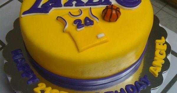 La Lakers Cakes Bryant Cake For Fareshteh Cakes And