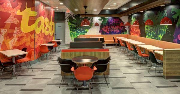 Fast Food Restaurant Decorating Ideas