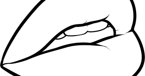 line drawing of lips  google search  cnc ideas