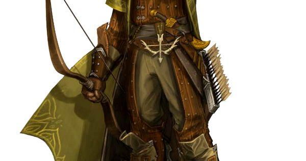 Human Male Cleric Of Erastil Or Archer Ranger