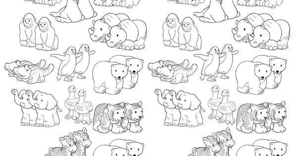 NoahsArk For My Kiddies Pinterest Tier
