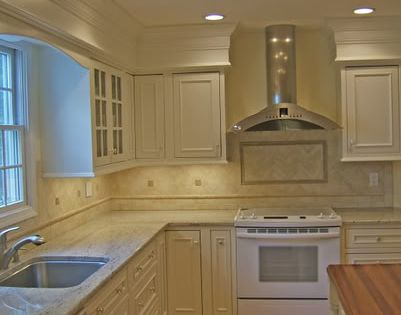 Add Trim To Soffits So They Blend In Paint Cabinets White Updating Cabinets Molding