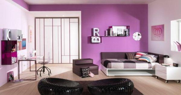 teens bedroom color ideas | Stylish Feminine Teen Girls ... on Best Rooms For Girls  id=12311