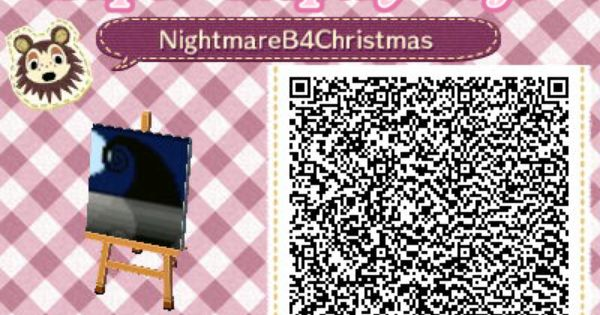 The Nightmare Before Christmas Animal Crossing New Leaf