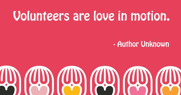 Happy Valentines Day To All Our Volunteers Partners And